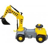 Camion cu excavator rotativ Super Plastic Toys Pick Up