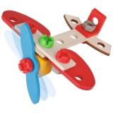 Set constructie din lemn Eichhorn Airplane 18 piese {WWWWWproduct_manufacturerWWWWW}ZZZZZ]