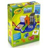 Set creatie abtibilduri Crayola Cling Creator Gelsticker Designer