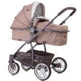 Carucior Lorelli S-500 beige & yellow Happy Family