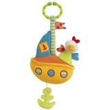 Jucarie muzicala Brevi Soft Toys 139020 Vaporas