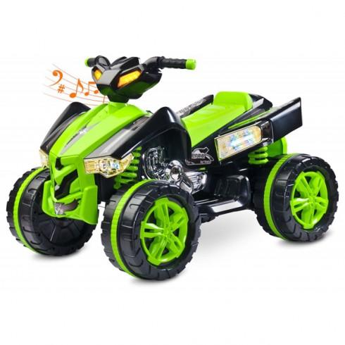ATV Toyz Raptor 2x6V green