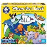 Joc educativ loto Orchard Toys Habitate Where do I live