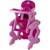 Scaun de masa Caretero Primus pink