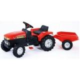 Tractor cu pedale Falk Farm rosu