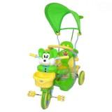 Tricicleta cu copertina Eurobaby 2830ac verde