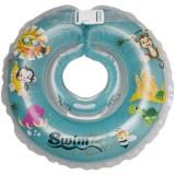 Colac de gat Kidcity SwimBee pentru bebelusi Turcoaz