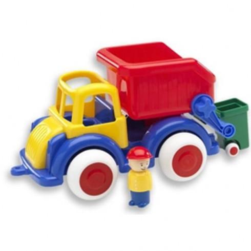 Camion gunoi VikingToys Jumbo cu 2 figurine