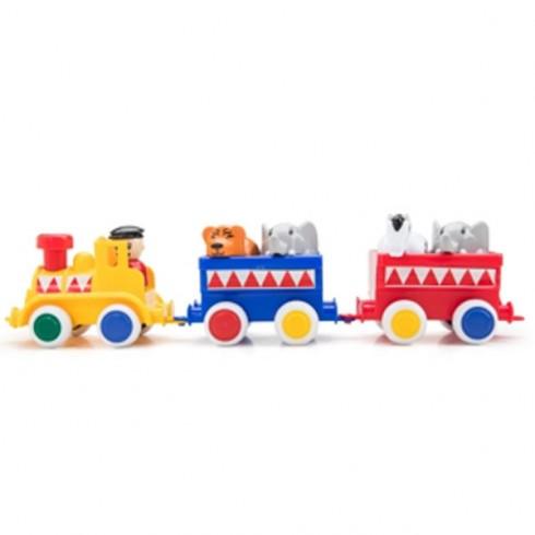 Jucarie VikingToys Maxi Trenul de Circ cu animalute