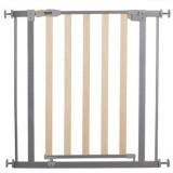 Poarta de siguranta Hauck Wood Lock Safety Gate silver
