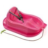 Sanie copii Marmat Mini roz