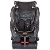 Scaun auto Chipolino Trax 0-25 kg mesh black