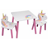 Set masuta si scaune Global Unicorn