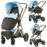 Carucior Chipolino Sensi 3 in 1 blue mist