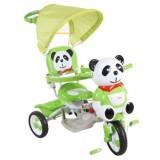 Tricicleta cu copertina Arti Panda 2 verde