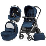 Carucior Peg Perego Book Plus 51 S Black Sportivo Geo navy 3 in 1