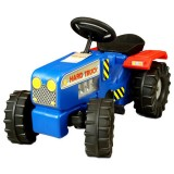 Tractor Super Plastic Toys Hard Truck blue