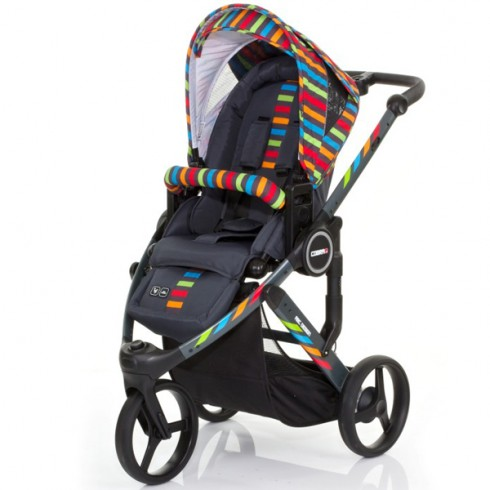 Carucior ABC Design Cobra Plus rainbow