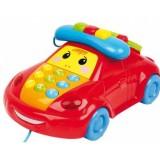 Jucarie Baby Mix Telefon educativ Funny Car