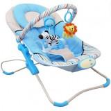 Scaunel balansoar Baby Mix Magic albastru
