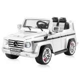 Masinuta electrica Chipolino SUV Mercedes Benz G55 white