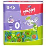 Scutece Happy 0 before new born 46 buc pentru