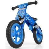 Bicicleta fara pedale Milly Mally Flip blue