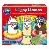 Joc educativ Orchard Toys Lame cu colaci Loopy Llamas