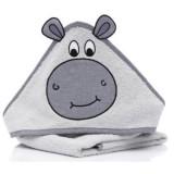 Prosop brodat Fillikid Frog Hippo grey