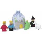 Set marionete pentru degete Oskar&Ellen Castelul