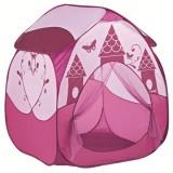 Cort de joaca Ludi Printesa roz inchis