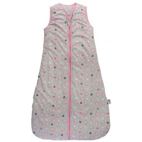 Sac de dormit Slumbersac Pink Elephant 6-18 luni 2.5 Tog