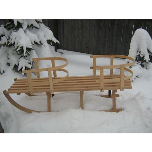 Sanie Mesterel din lemn gemeni