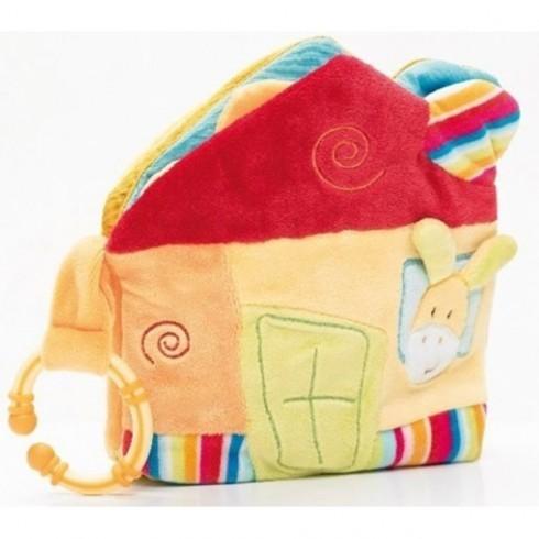 Carte activitati Brevi Soft Toys 153538 Casuta
