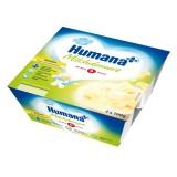 Iaurt Humana cu gust de banane de la 6 luni 4x100 g