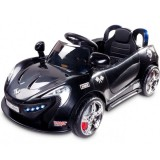 Masinuta electrica Toyz Aero 2x6V cu telecomanda Black