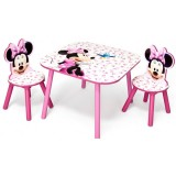 Set Delta Children Minnie Mouse Pink Fruits