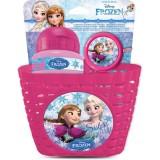 Set Disney Eurasia Frozen sticla apa sonerie si cos bicicleta