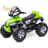 ATV Toyz Quad Cuatro 6V green