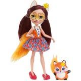 Papusa Enchantimals by Mattel Felicity Fox cu figurina {WWWWWproduct_manufacturerWWWWW}ZZZZZ]