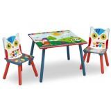Set masuta si scaune Delta Children Woodland