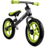 Bicicleta fara pedale Lionelo Fin Plus grey green