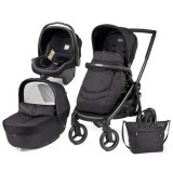 Carucior Peg Perego Black Mat Team 3 in 1 onyx