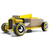 Masinuta din lemn Automoblox Mini Hot Rod HR2