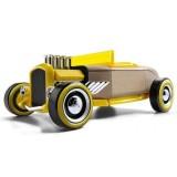 Masinuta din lemn Automoblox Mini Hot Rod HR2