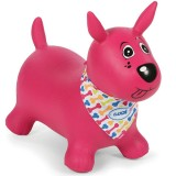 Saritor gonflabil Ludi catel roz