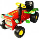Tractor Super Plastic Toys Turbo red