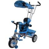 Tricicleta cu copertina Sun Baby Runner albastru