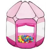 Cort de joaca Knorrtoys Bath of Balls cu 250 bile Pink