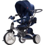 Tricicleta reversibila Sun Baby 007 Little Tiger blue